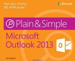 Книга Microsoft Outlook 2013 Plain & Simple