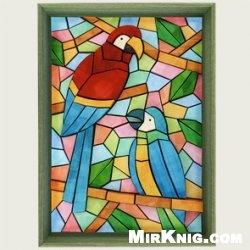 Журнал 3D Paper Mosaic (Tropical Birds)