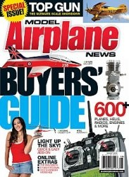 Журнал Model Airplane News 2009 No 08