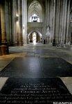 Jane Austen's grave in Winchester Cathedral Fotograf: Nina Eirin Rangøy
