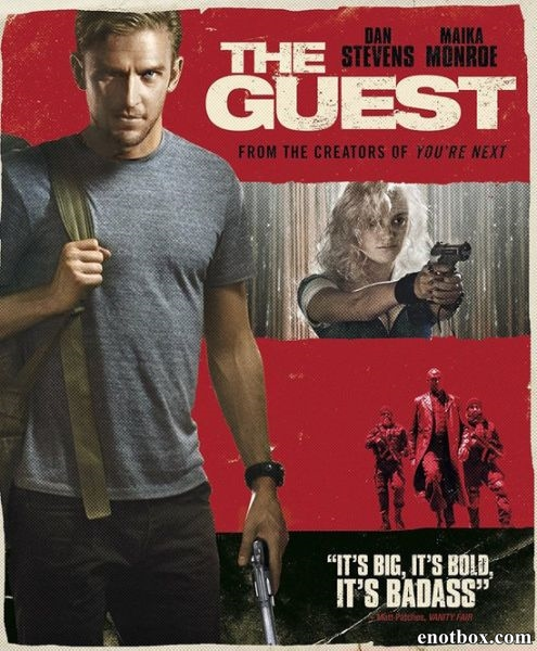 Гость / The Guest (2014/HDTV/HDTVRip)