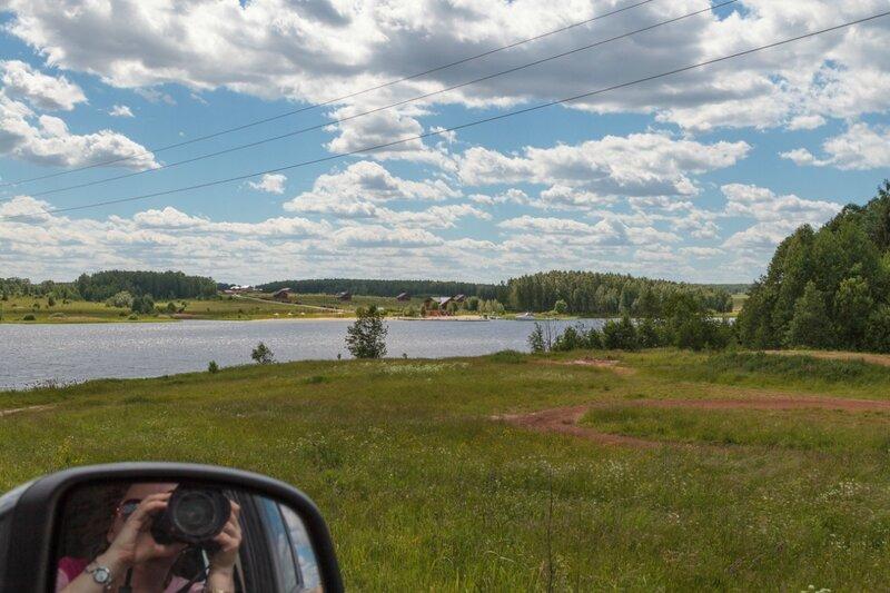 Устье реки Санахты и Чкаловская Ривьера