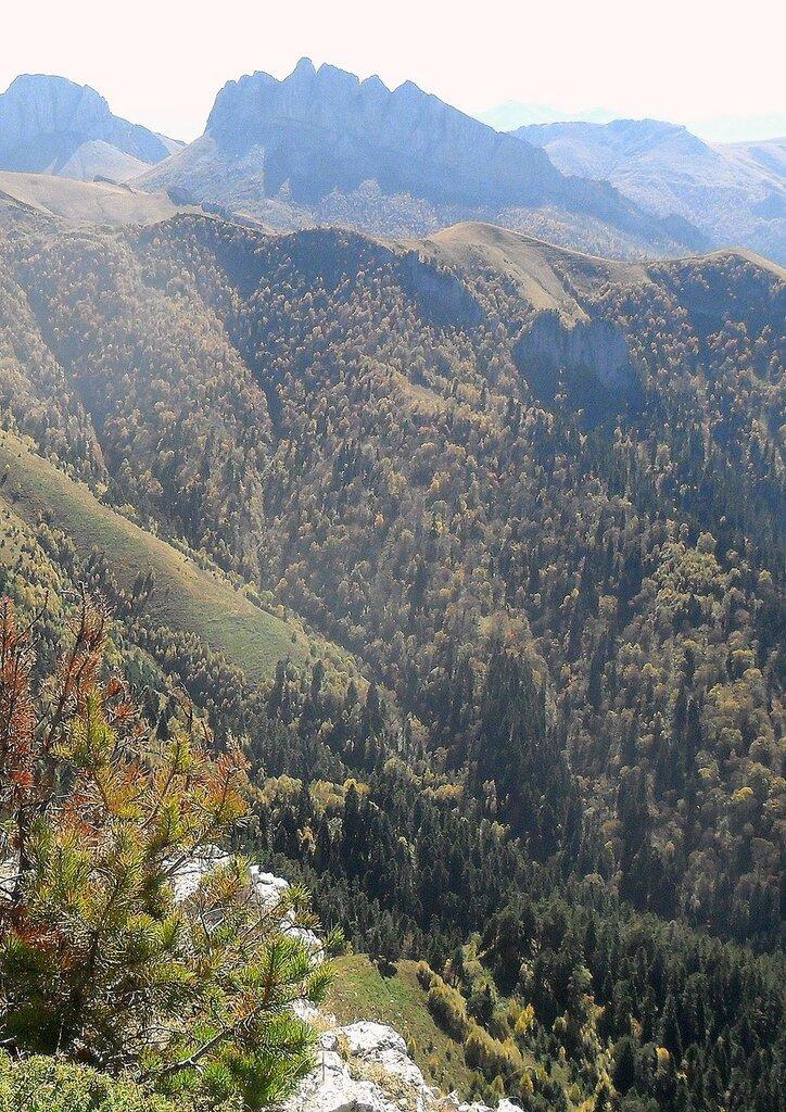 Кавказ, Адыгея, Большой Тхач, туризм, сентябрь 2012... SAM_3312 - копия.JPG