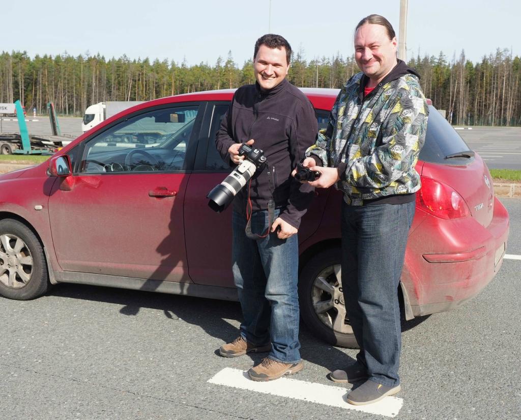 Путешествие на машине в Финляндию