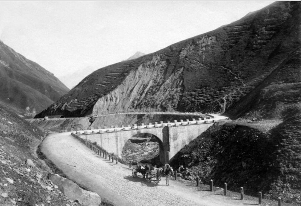 Мост из Коби в Гудаур