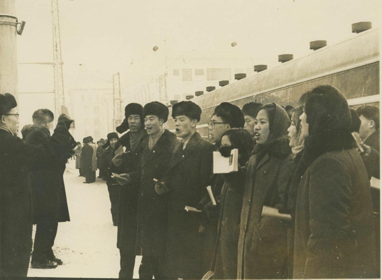 Выдворение из Советского Союза китайских студентов. 1966