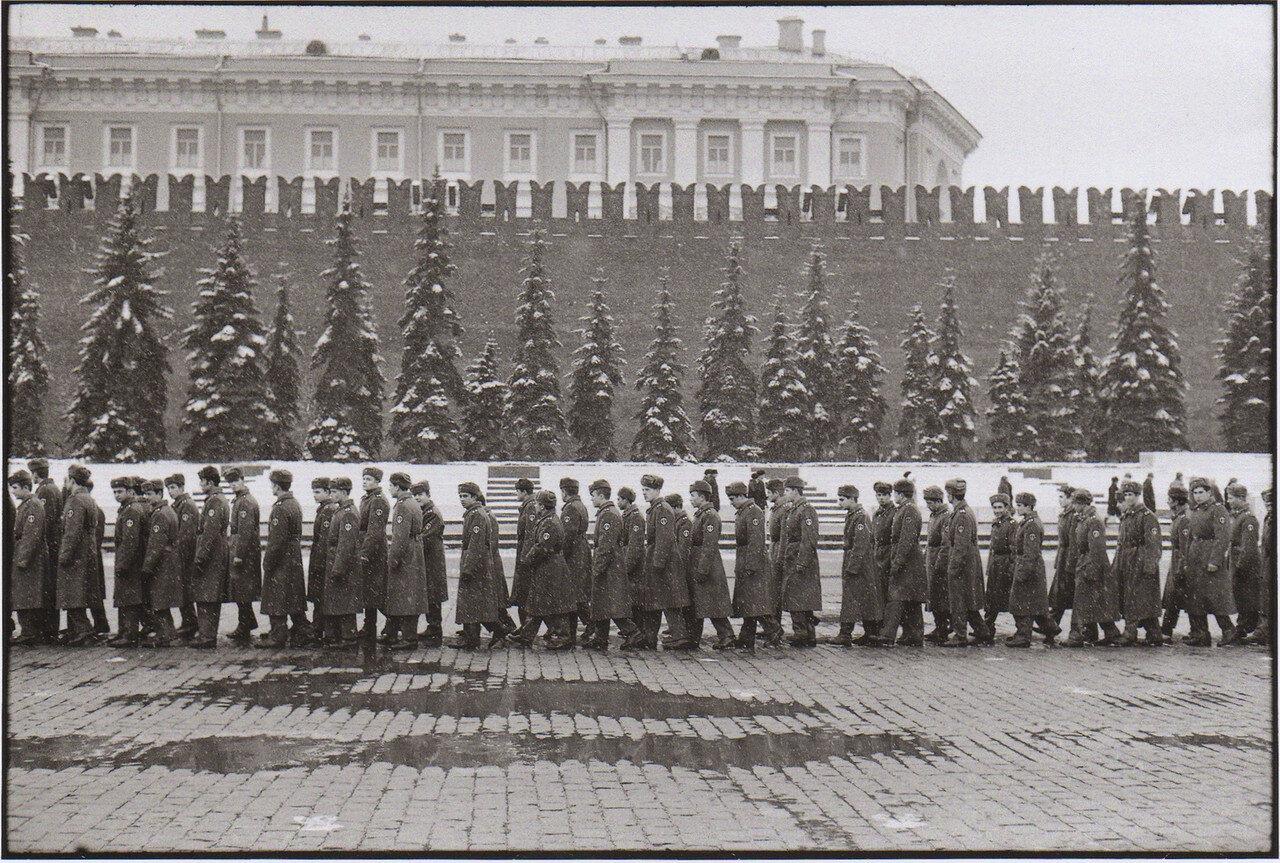 1972. Москва. Мавзолей Ленина на Красной площади