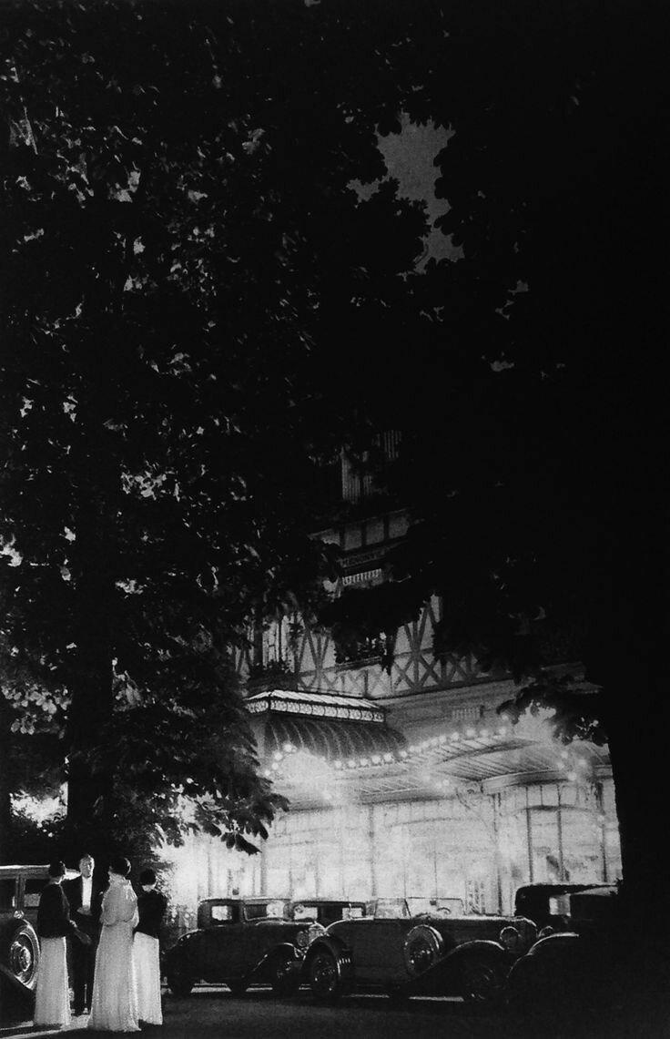 1930-е. Булонский лес. Павильон Дарменонвиль