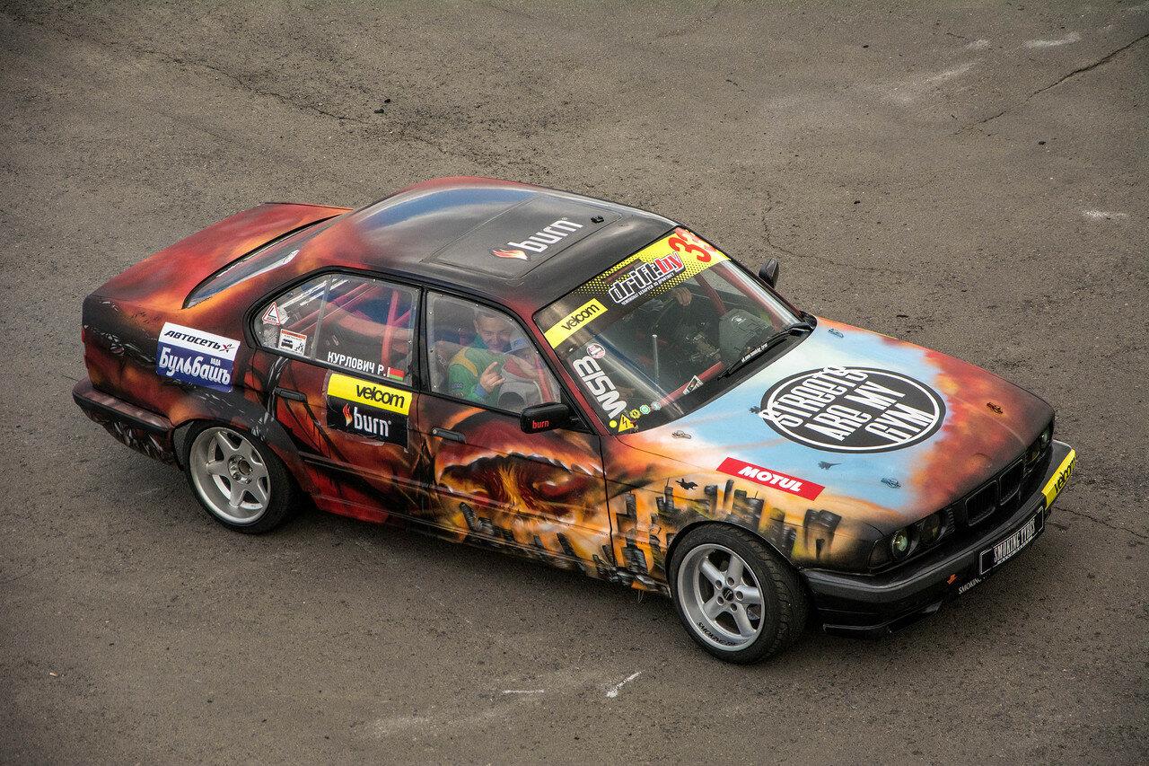 Руслан Курлович и его BMW E34
