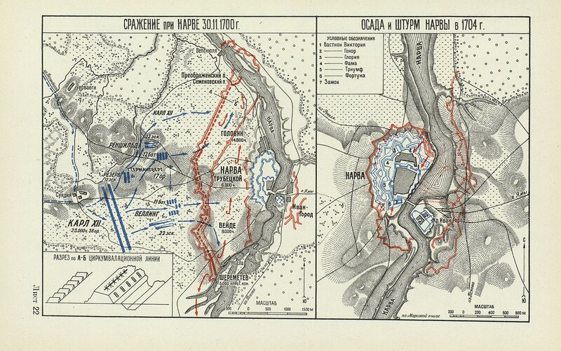 Сражение при Нарве осада и штурм Нарвы