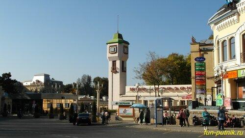 Город Кисловодск, вокзал