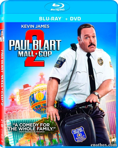 Толстяк против всех / Paul Blart: Mall Cop 2 (2015/BDRip/HDRip)