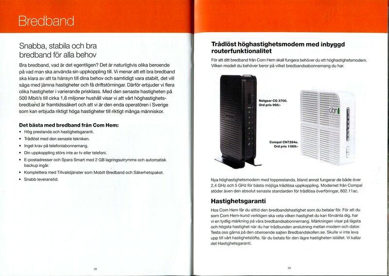 comhem bredband leveranstid