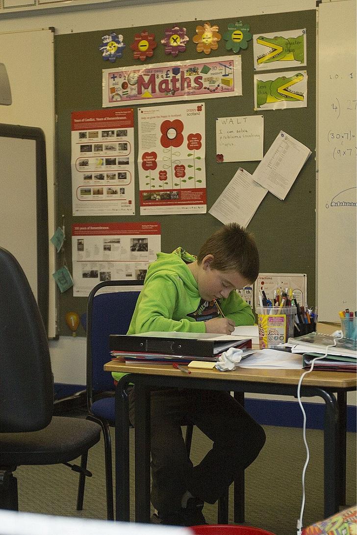 Арон в классе