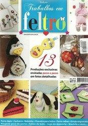 Журнал Colecao Trabalhos em Feltro Ano 1 -  №10