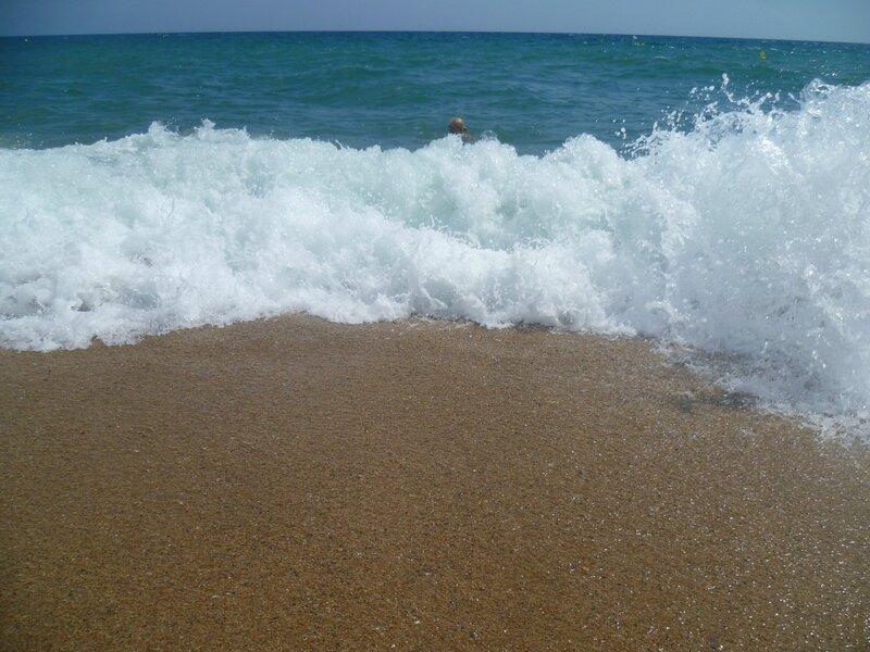 Море  Пинеда де Мар, Испания (Sea Pineda de Mar, Spain)