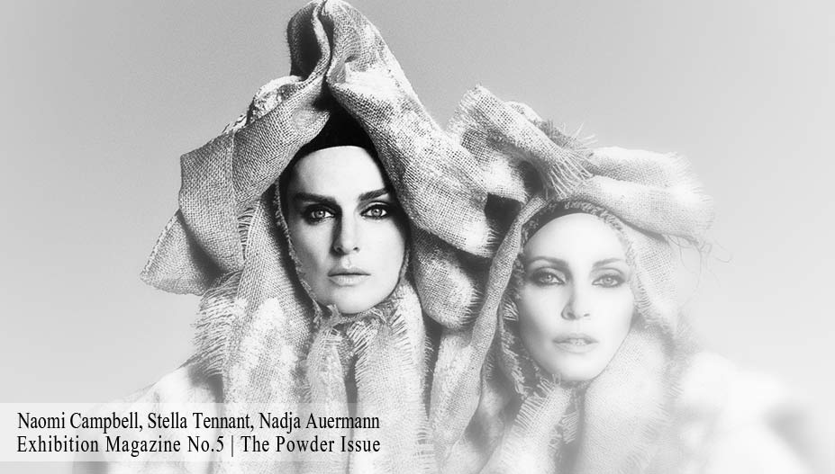 Naomi Campbell, Stella Tennant, Nadja Auermann by Luigi + Iango for Exhibition Magazine No.5