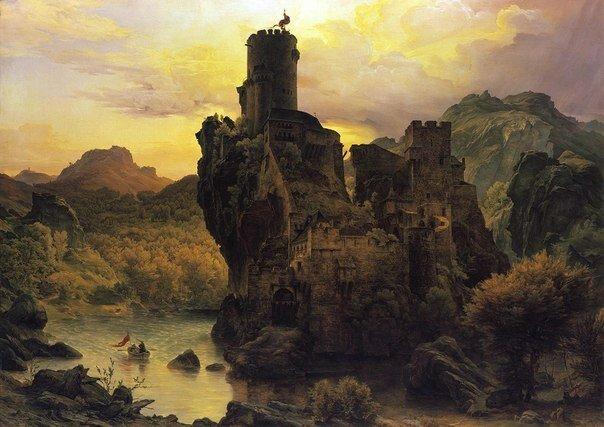 Карл Фридрих Лессинг. Немецкий художник романтического направления