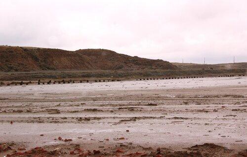 Берега озера Баскунчак