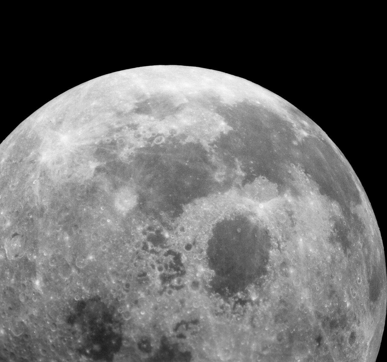 В 59 часов 19 минут 45 секунд полётного времени, «Аполлон-16» пересёк воображаемую черту, за которой гравитационное воздействие Луны на него стало больше земного.