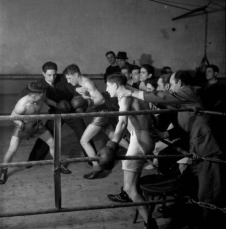 1939. Боксерские классы   Жоржа Карпентьера