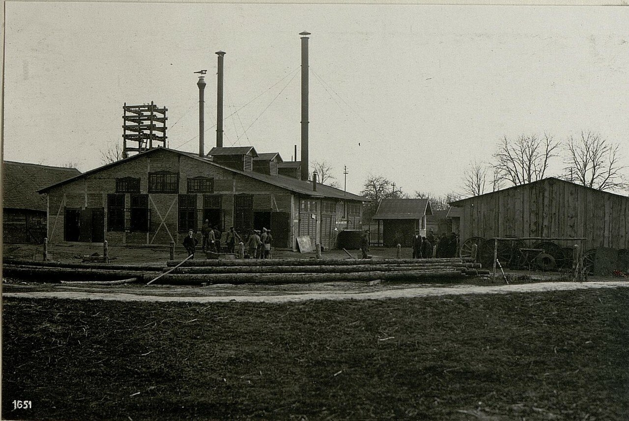 Электростанция. (17/IV.1918)
