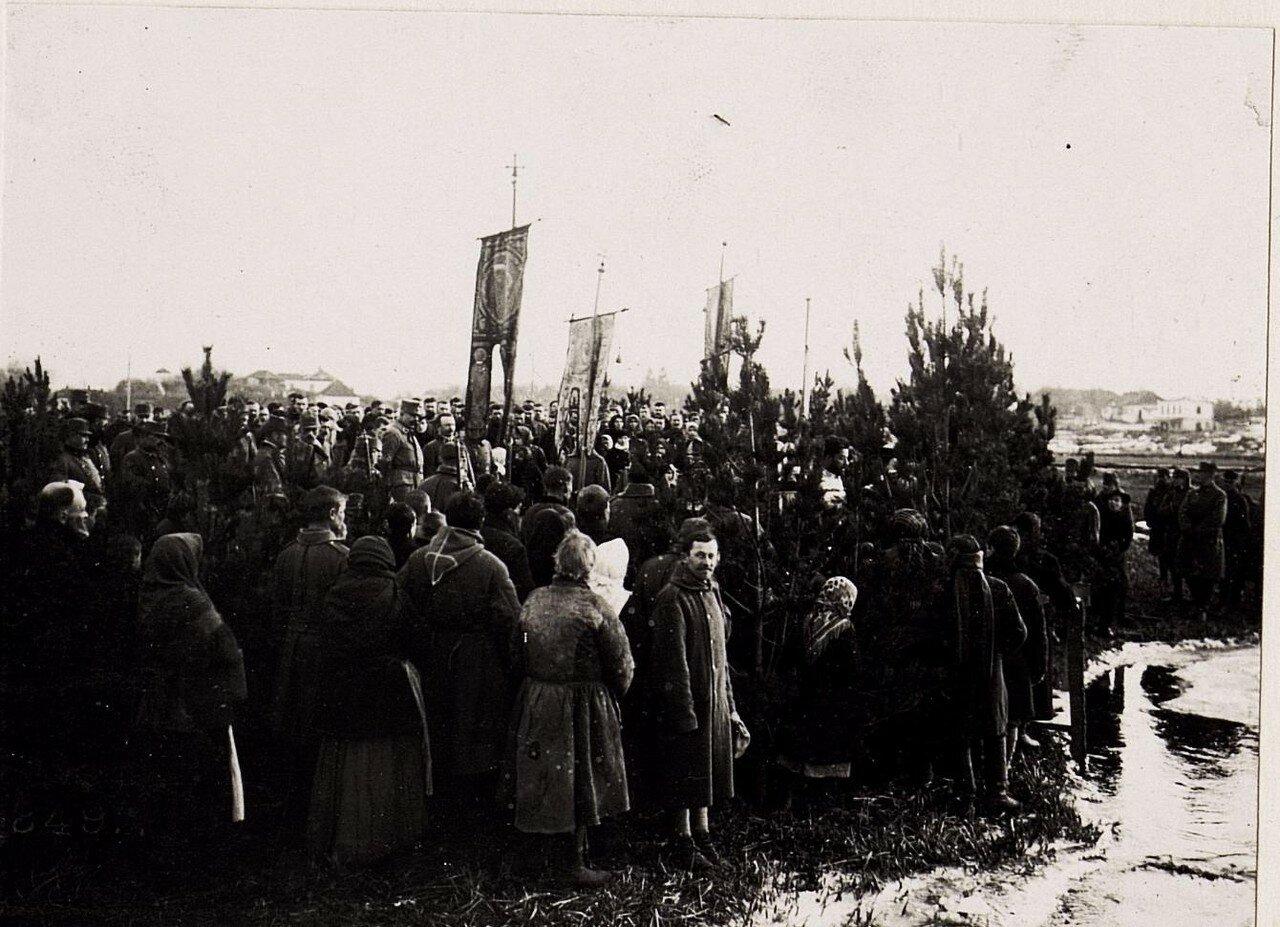 Wasserweihefest fьr Griechisch-Orthodoxe in Wladimir Wolinsky