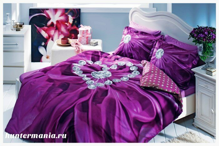 Роскошные виды в собственной спальне. Выбираем постельное белье с 3д эффектом