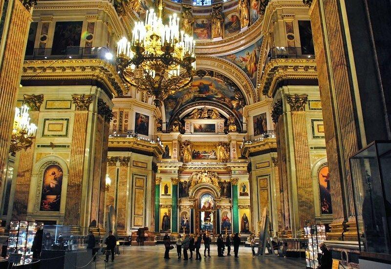 исаакиевский собор фото внутри собора