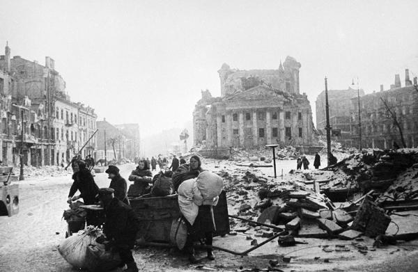 Варшава после освобождения