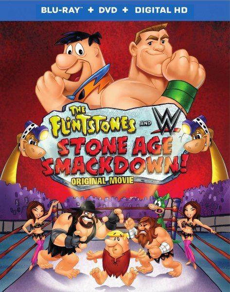Флинстоуны: борцы каменного века / The Flintstones and WWE: Stone Age Smackdown (2015/BDRip 1080p/720p)