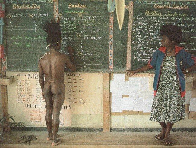 школьная форма в африке