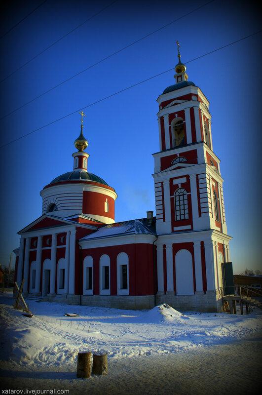 Русиново. Храм Святителя Николая Чудотворца в Русиново