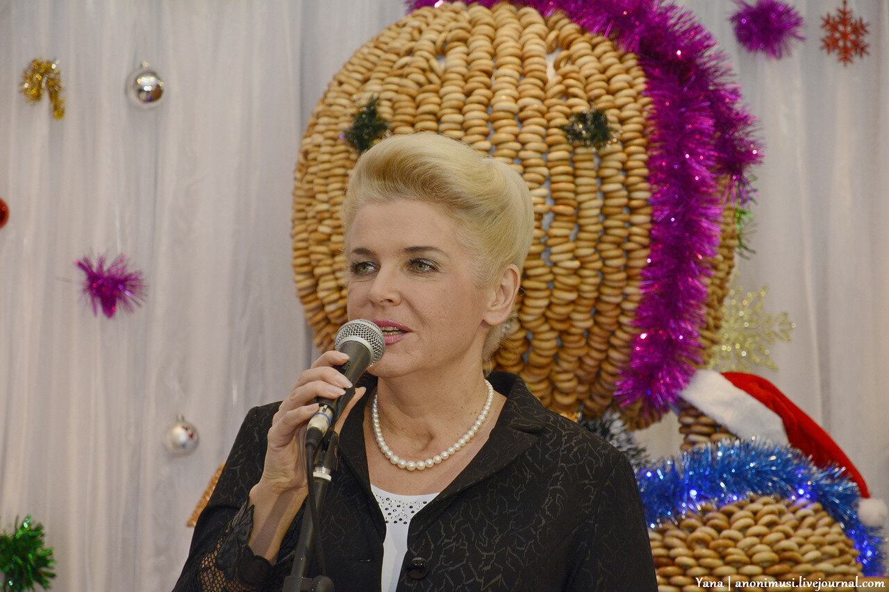 Рождественский пирог в галерее Г.Х.Ващенко
