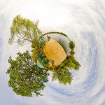 Пирсик и родниковый пруд микропланета, фото пирс, фото пруд, маленькие миры,