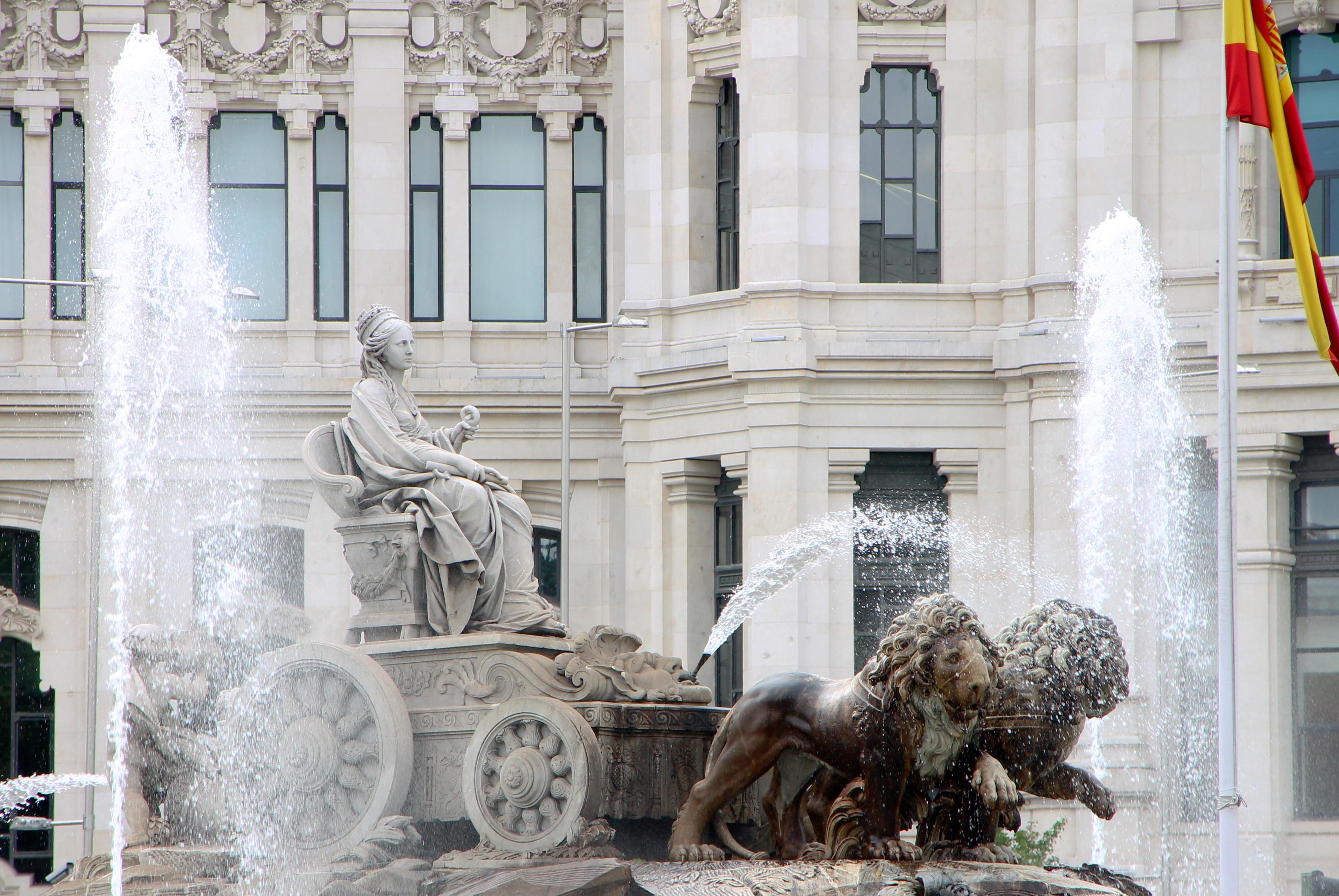 Мадрид. Фонтан Сибелес (Fuente de Cibeles)