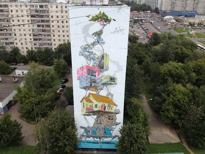 Андрей Адно / Adno - дизайнер 10f8и граффитчик с диагнозом: «артоголизм»