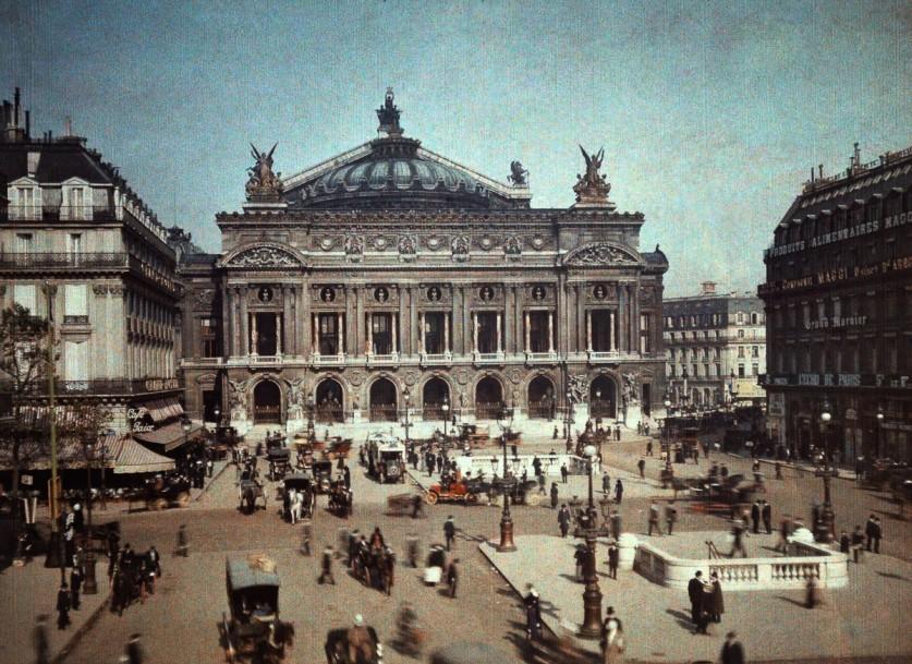Парижская Опера Гарнье.
