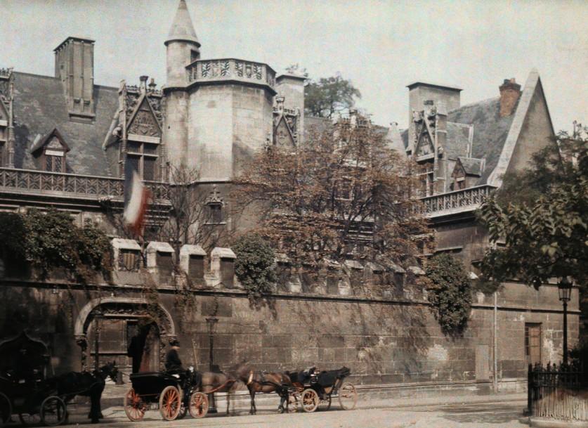 Автохромные фотографии Парижа 1923 года Жюля Жерве-Куртельмона (Jules Gervais-Courtellemont)