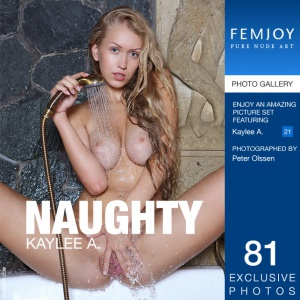 Журнал Журнал FemJoy: Kaylee A - Naughty (13-05-2014)