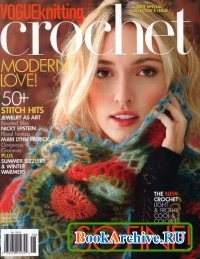 Книга Vogue knitting Crochet 2012.