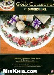 Журнал Dimensions 8671 Holiday Harmony Tree Skirt