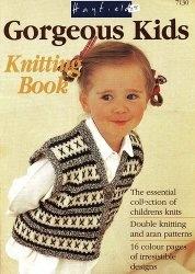 Gorgeous Kigs Knitting Book 7130