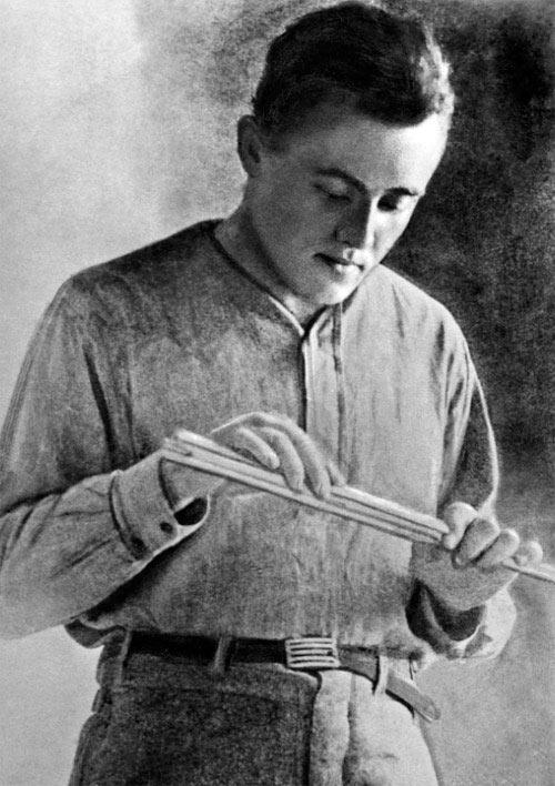 Сергей Королёв во время учёбы в Бауманском училище