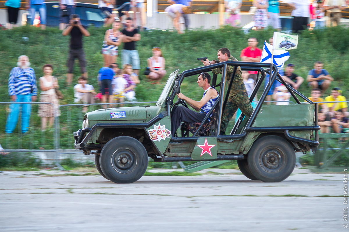 Автотриал на день ВМФ 11