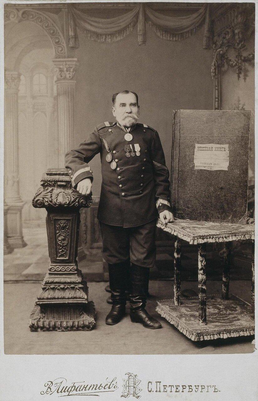 Портрет старшего каптенармуса армейского уланского полка