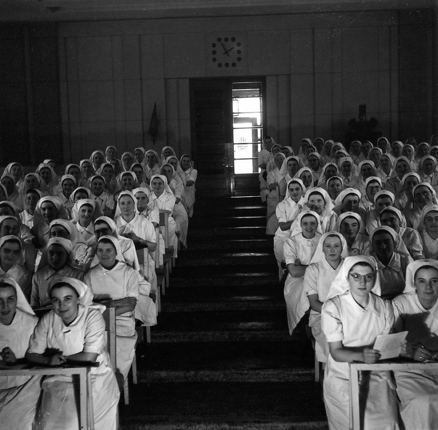 1942. Школа медицинских сестер
