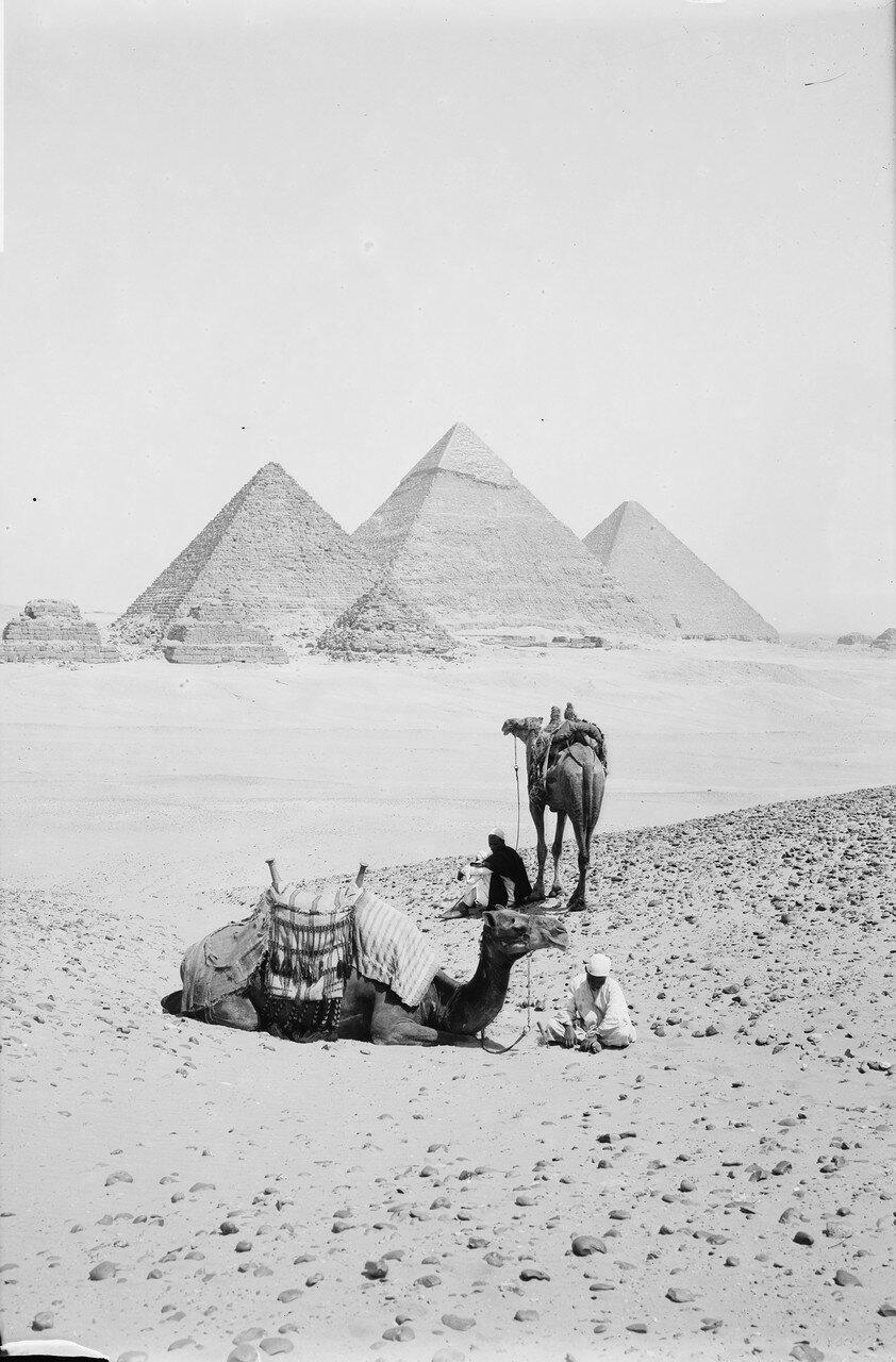 Гиза. Общий вид Пирамид
