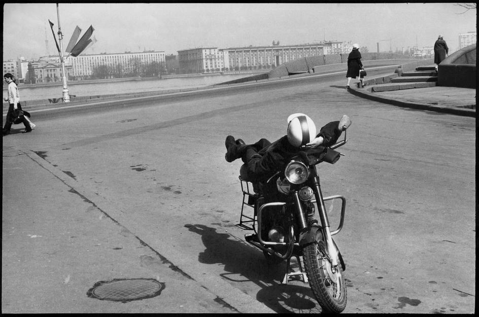 1972. Ленинград. Дворцовая набережная