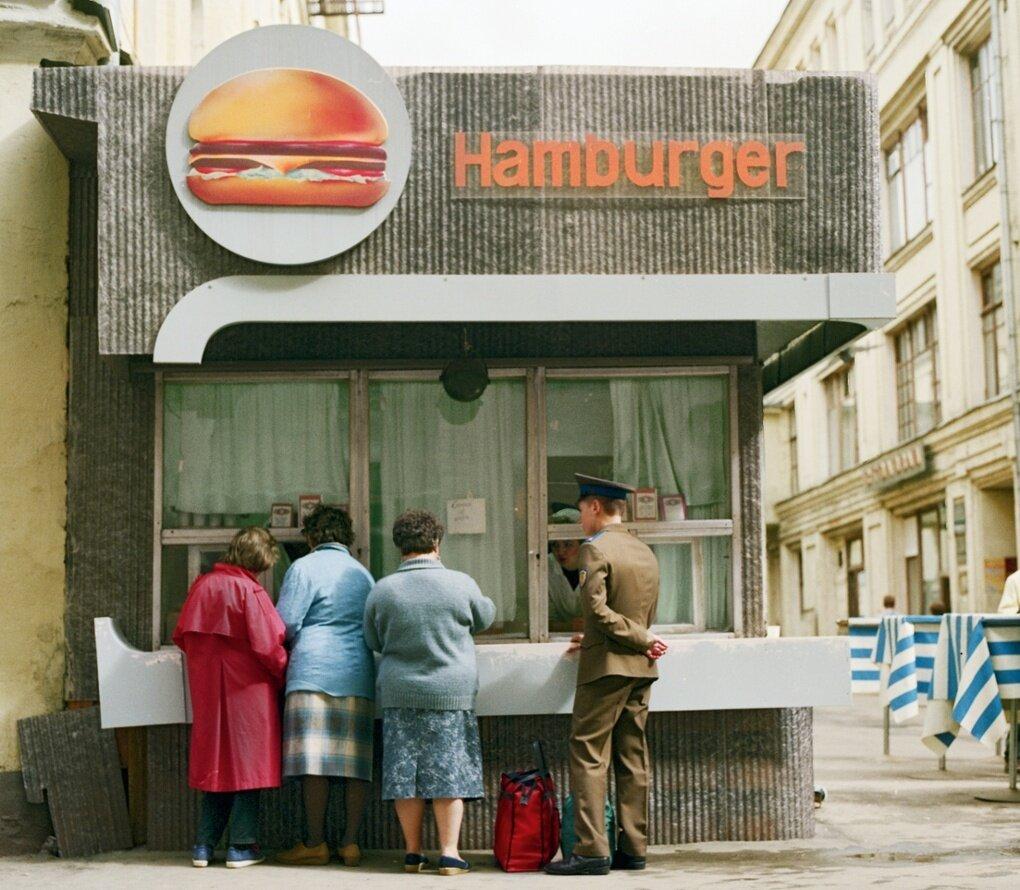 Гамбургер как новый тренд
